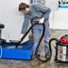MAXIM 40-70 M OIL - PROFESSIONAL VACUUM CLEANER FOR PICK-UP AND SEPARATION OF EMULSIFIED OIL AND CHIPPINGS IN-USE