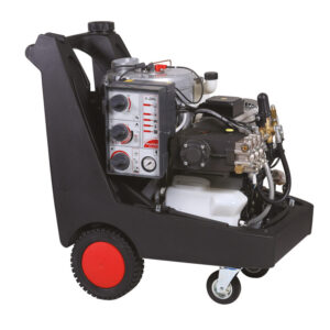 SUPER - PROFESSIONAL HOT WATER HIGH PRESSURE CLEANERS SIDE-VIEW