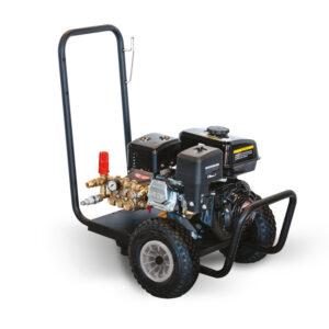 : MOBILE - PETROL ENGINE MOTORISED COLD WATER HIGH PRESSURE CLEANER