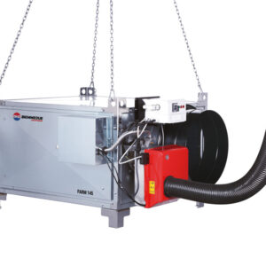 FARM 85 M- HEAVY DUTY SUSPENDED SPACE HEATERS SIDEVIEW