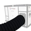 SCUDO HEAVY DUTY HEATER WITH DUCT ILLUSTRATION
