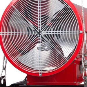 GE/S - DIRECT COMBUSTION MOBILE SPACE HEATER FAN