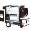 TITAN 145 M - INDIRECT COMBUSTION HEAVY DUTY MOBILE SPACE HEATERS WITH CENTRIFUGAL FAN SIDEVIEW