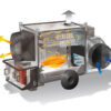 TITAN 145 M - INDIRECT COMBUSTION HEAVY DUTY MOBILE SPACE HEATERS WITH CENTRIFUGAL FAN ILLUSTRATION