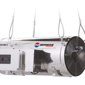 GA - SUSPENDED LPG DIRECT FIRED SPACE HEATERS